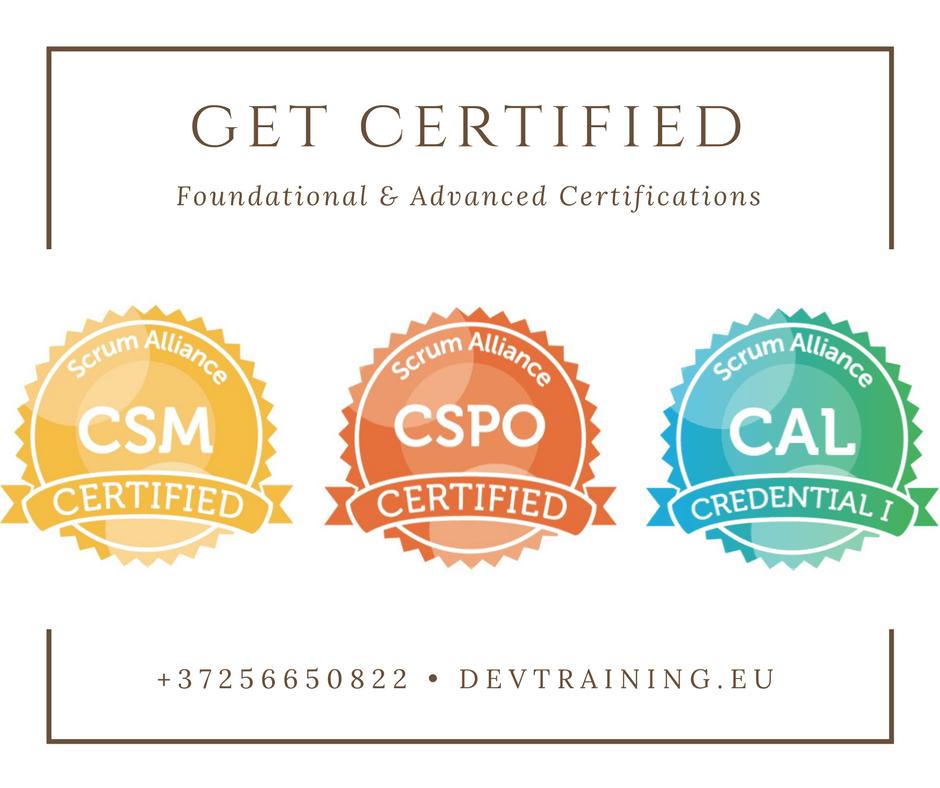 Scrum Master Certification Course (CSM)